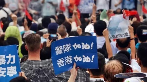 临时禁制令为香港警队筑起坚强后盾,撑警就要大声说出来