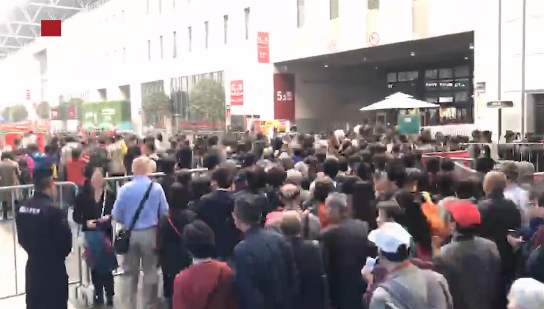 视频 |  第二届进博会延展首日迎大客流 中国馆最受欢迎
