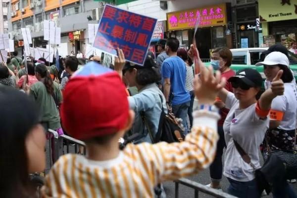 暴力祸害之深,香港各界越来越清楚了!