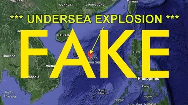 """南海""""核爆炸""""被证实是谣言,但有人不识趣,难免有不测风云"""