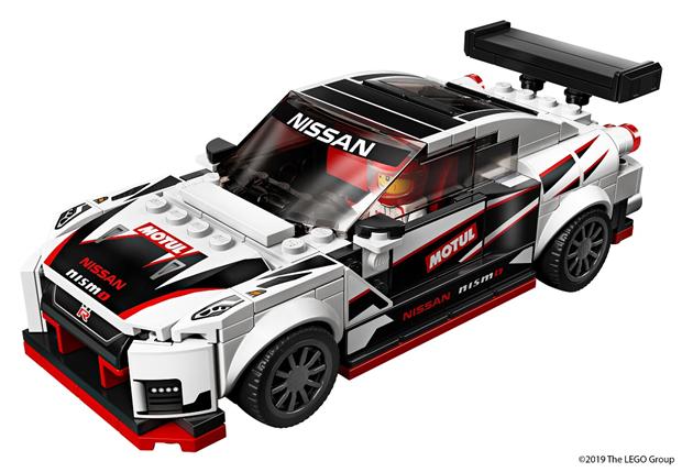 日产与乐高联手推出GT-R NISMO玩具模型