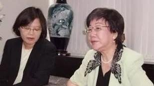 吕秀莲接受英国BBC专访,对着蔡英文的七寸猛咬一口