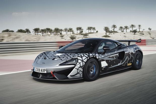 迈凯伦全新620R 可合法上路的迈凯伦GT4赛车