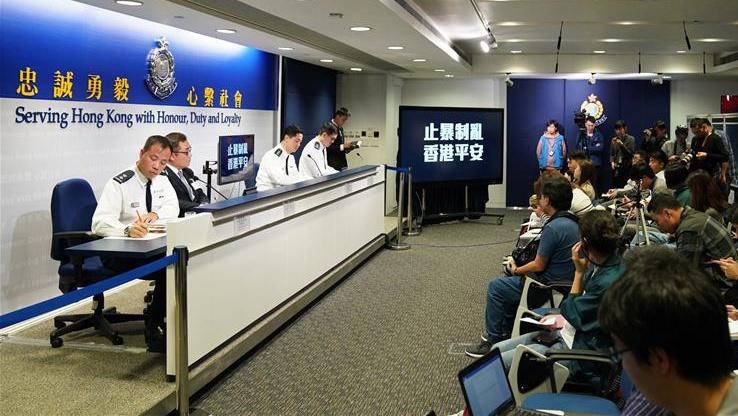 香港警方本周共拘捕336人 多涉嫌参与圣诞节破坏活动