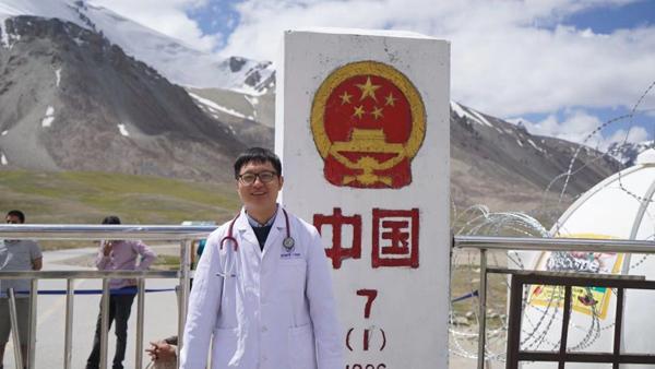 在邊疆堅守醫者仁心 記上海第九批援疆醫生 喀什二院心內科主任趙剛