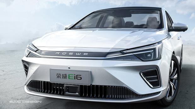 荣威Ei6重磅开启上汽纯电全新设计语言