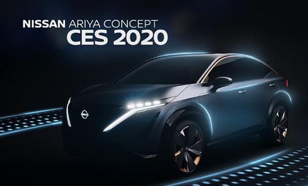 日产汽车亮相2020 CES