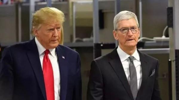 特朗普喊话苹果要和政府合作,又是否听到美企喊话希望与中国合作?