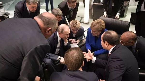 普京不到场,柏林这场有关利比亚的会,就开不起来!