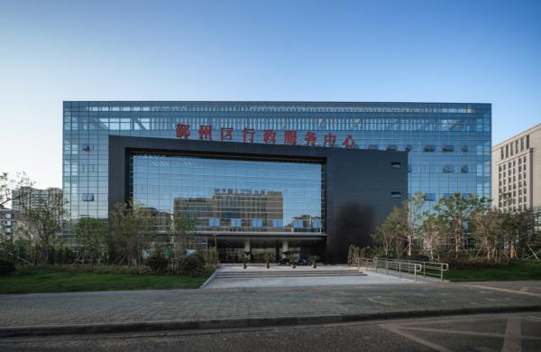 宁波鄞州区市民服务中心荣获IAI建筑设计优秀奖