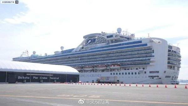 中国驻日大使馆:钻石公主号已有47名中国同胞确诊