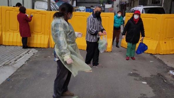 武汉凡人英雄|社区书记董守芝:我们离华南海鲜市场不足两公里