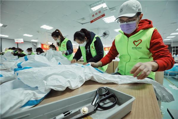 20天,750人次,经手近4万件防护服!这批上海志愿者干了件大事!