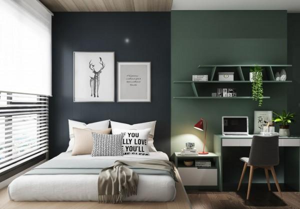 卧室小,就这样设计