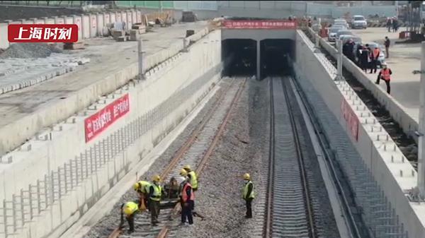 视频 | 航拍轨交15号线铺轨工程正式复工 已有29座车站主体结构封顶