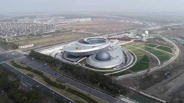 视频 | 上海天文馆工地正式复工 建成后将成为全球建筑面积最大天文馆