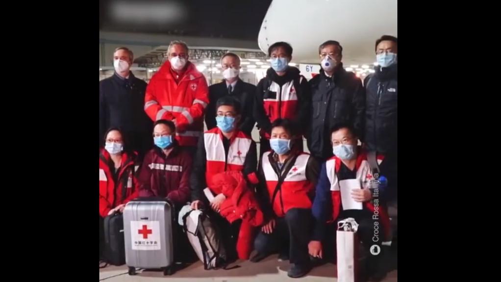 意大利网友刷屏感谢中国专家组:中国人表现出了人性