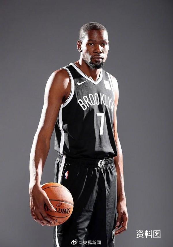 NBA著名球星杜兰特新冠病毒检测呈阳性