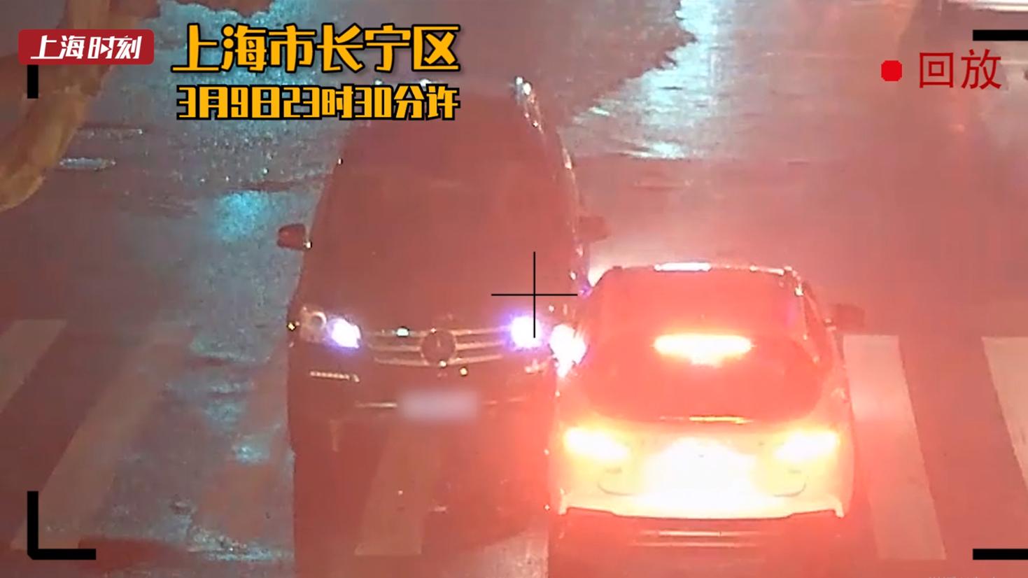视频 | 醉驾司机撞车后弃车而逃 慌不择路跑向派出所