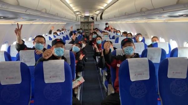 视频   白衣天使已起飞!上海东方医院和华山医院47名医疗队员返沪