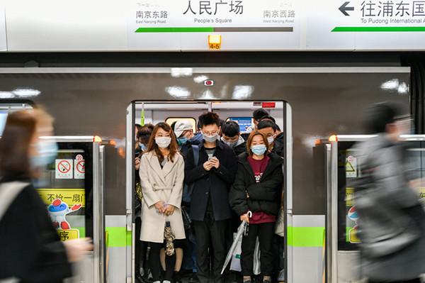 视频 | 新一周早高峰 上海地铁客流稳中有升