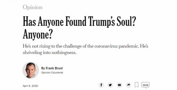 """《纽约时报》""""劝做人""""激怒特朗普,得到的回应是——100条推特光速拳攻击!"""