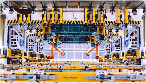 爱驰汽车智慧工厂引领绿色产业链