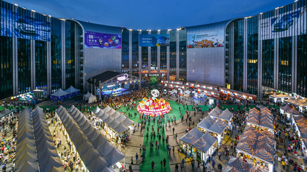 视频 | 精彩纷呈!一起来看今晚刷屏的上海夜生活节