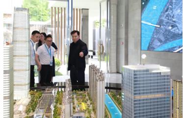 一线督战抓执行 张近东现身苏宁两大重点项目施工现场