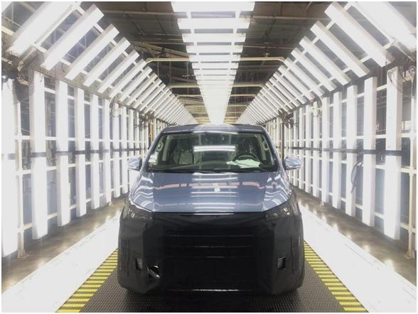 上汽MAXUS首台燃料电池MPV顺利下线