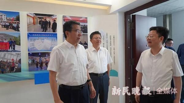 上海援疆前方指挥部赴克州江苏援疆前方指挥部调研学习