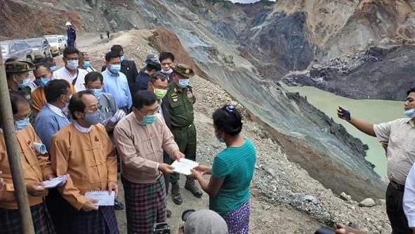 缅甸帕敢矿难搜救工作结束 174人遇难20人失踪