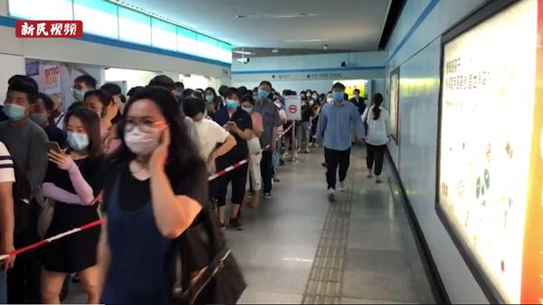 视频 | 早高峰上海地铁8号线车辆故障,现已恢复运营
