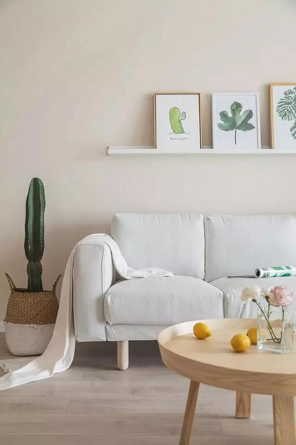 朋友家刷白墙竟然这么美,5万块基装就能搞定,家具进场非常惊艳!