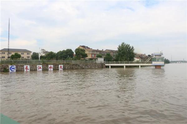 洪水洪峰已顺利通过长江中下游干流