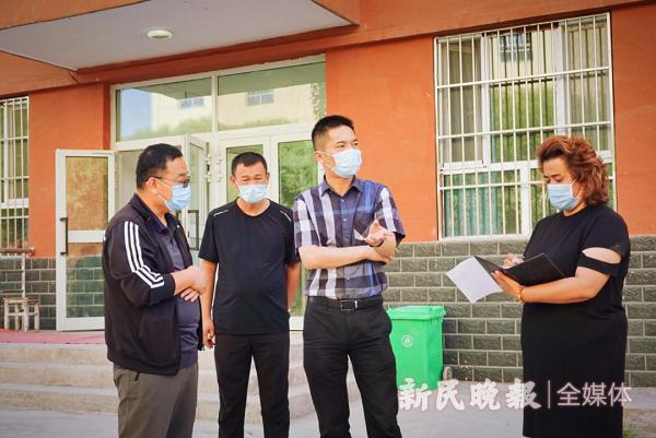 上海援疆莎车分指挥部助力莎车县新冠疫情防控工作