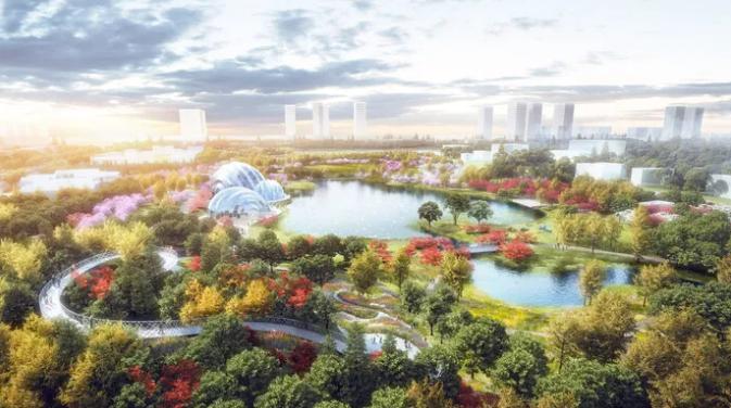 """20多万平方米的""""上海大花园""""要来啦!还有市中心最大人工湖、蝴蝶温室……"""