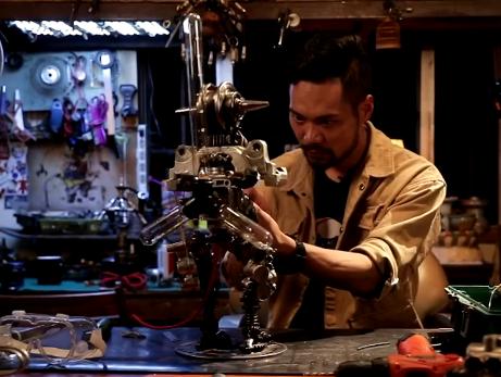 来上海20年,他从捡垃圾少年变身人人夸赞的匠人!王一博、吴镇宇都买过他的作品