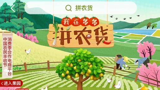 拼多多上线第二届农货节 预计为农产区带来超2亿笔订单