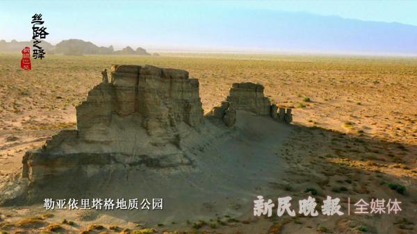 """巴楚勒亚依里塔格山:独特的雅丹地貌""""风蚀城堡""""景观"""