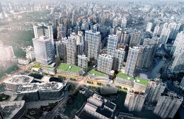 祥生地产上海内环内城市综合体项目今日开工