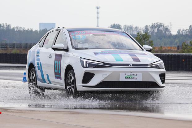 """""""7冠王""""R ER6闪耀2020 CEVC中国新能源汽车大赛"""