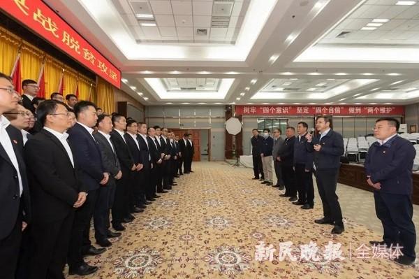 上海浦东党政代表团赴喀什莎车县考察慰问 确保脱贫攻坚目标顺利实现