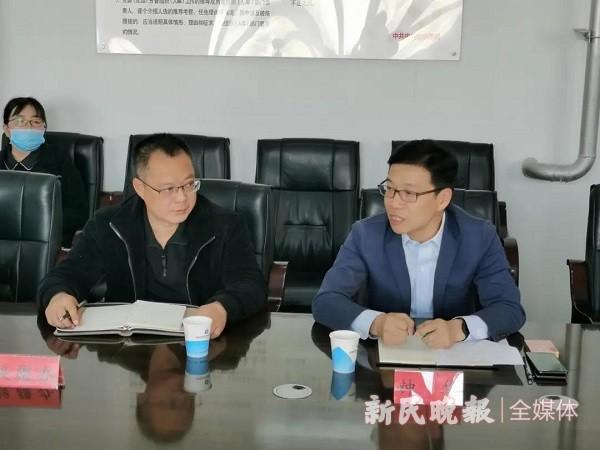上海市闵行区市场监管局代表团赴泽普县考察召开消费扶贫洽谈会