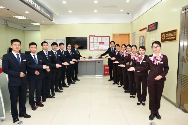 喜迎第三届进博会,招商银行上海金钟路支行服务升级