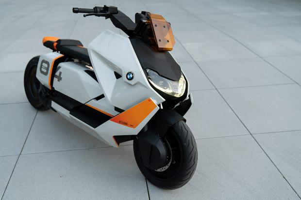 BMW Motorrad Definition CE 04概念摩托车全球首发