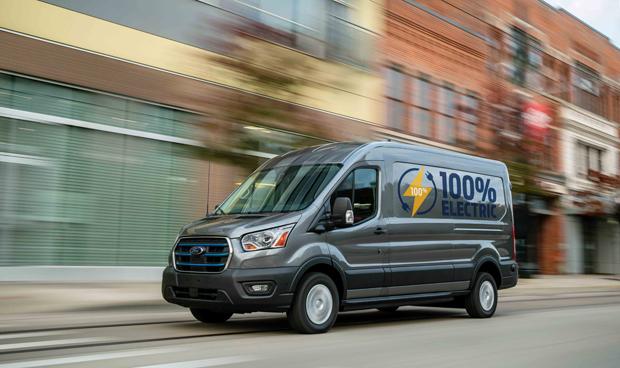 福特发布纯电E-Transit 加速全球电气化战略落地
