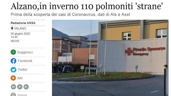 热点 | 意大利去年9月或已存在新冠病毒!钟南山公布一个新数字…