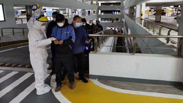 乐动体育浦东国际机场所有相关工作人员连夜进行核酸检测