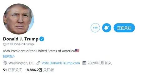 平台真的很重要:特朗普推特疯狂掉粉,拜登在飞速涨粉